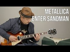 "How to Play ""Enter Sandman"" on guitar - Metallica Guitar Lessons - Marty Schwartz - YouTube"