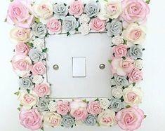 Woodland nursery   Etsy UK Girls Room Accessories, Baby Room Decor, Bedroom Decor, Girls Bedroom, Bedroom Ideas, Flower Girl Wand, Large Flower Arrangements, Woodland Nursery Decor, Floral Headbands