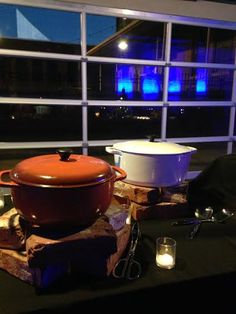 What's in the Cast Irons?  1.  Sorghum Roasted Carrots!  2.  Celery Root & Yukon Gold Mash! #crushediceevents