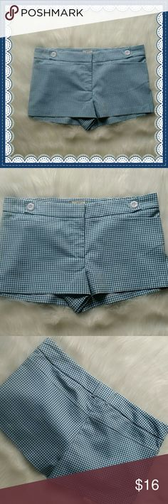 "Pins and needles urban outfitters shorts 10 Really cute checked short shorts in good condition.  10 "" from the waist to the hem. Urban Outfitters Shorts"