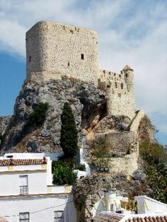 Castillo de Olvera is located in Olvera in the province of Cádiz, southern Spain. It was built in the late 12th century as part of the defensive system of the Emirate of Granada.