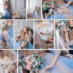 Нежное утро невесты, будуарное платье Vesssna