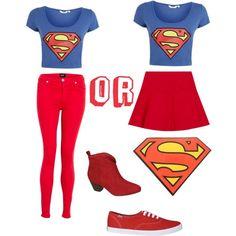Halloween costume ideas : Superwoman !