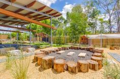 Kindy Garden McDowall,McDowall, Brisbane,QueenslandConstruction: Gateway ConstructionsI do a number of designs for centres in other states and it's always a pleasure to receive photos of… Outside Playground, Kids Indoor Playground, Playground Ideas, Outdoor Learning Spaces, Outdoor Play Areas, Outdoor Classroom, Outdoor School, Cool Diy, Natural Play Spaces
