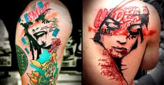 Visual Postmodern Tattoos by Paul Talbot | Tattoodo