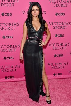 Selena Gomez attends the 2015 Victoria's Secret Fashion Show