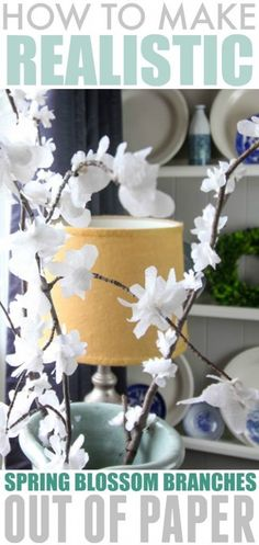 DIY Spring Blossom Branches | The Creek Line House