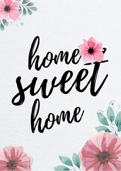 Arte digital - Home sweet home Home Quotes And Sayings, Wall Quotes, Cute Wallpaper Backgrounds, Cute Wallpapers, Happy Monday Quotes, Give Peas A Chance, Photo Wall Decor, Frame Store, Love Wall Art