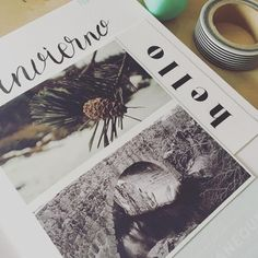 Winter Love #winter #travelersnotebook #journal #journaling #nature #papelcreativo