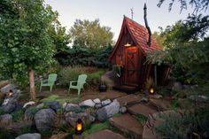 Esta cabana de madeira vai te lembrar que o mundo pode ser mágico
