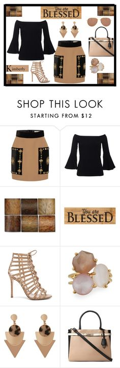 """Blessed"" by kimmie-plus2 on Polyvore featuring FAUSTO PUGLISI, Uttermost, Prinz, Gianvito Rossi, Ippolita, Dorothy Perkins and Illesteva"