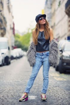 Outfit ideas that are chic, not sloppy.
