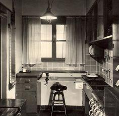 margarete sch tte lihotzky frankfurter k che cocina frankfurt dise ada para la siedlung. Black Bedroom Furniture Sets. Home Design Ideas