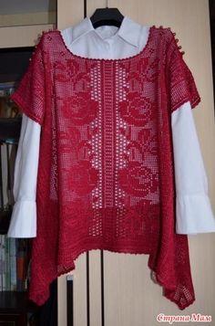 - Knitting - the Country of Mothers // Martha Foss Crochet Skirts, Crochet Cardigan, Crochet Scarves, Crochet Clothes, Thread Crochet, Crochet Stitches, Knit Crochet, Crochet Patterns, Crochet Tops