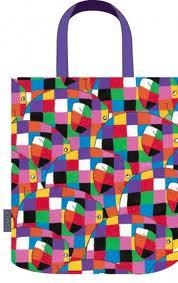Elmer The Elephant Tote Bag BNWT great for kids and adults ! Elmer The Elephants, First Birthdays, Reusable Tote Bags, Bulletin Board, My Love, 3rd Birthday, Kids, Quilt, Crafts