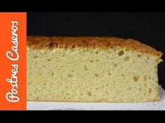 Para hacer una buena tarta húmeda, hace falta un bizcocho perfecto que empape bien el líquido con el que lo vamos a emborrachar. Con esta receta vais a encontrar la solución a la pregunta: ¿Cómo hago un bizcocho perfecto? Relleno, Banana Bread, Sweets, Desserts, Food, Youtube, Cooking Recipes, Pastries, Vanilla