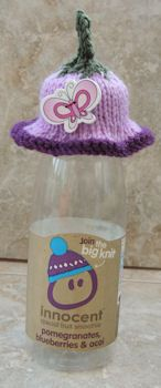 Innocent Smoothies Big Knit Hat Patterns Eeyore Donkey tricot Pinterest ...