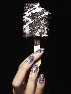 nail art and ice cream, two of our favorites!