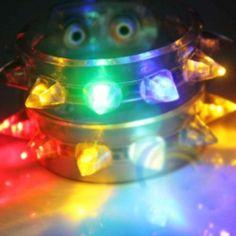 Stylish Punk LED Bracelet Flashing Bracelet Blinking Spike for Party Christmas