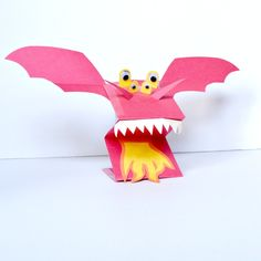 Join us as we take you through a quick, no-mess craft to create these paper dragon puppets. They're perfect for pretend play, classrooms, and baby sitting!