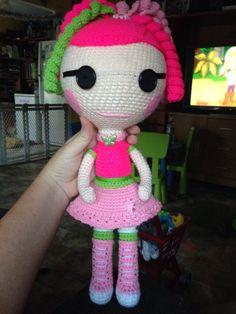 La oopsy  crochet gift toy amigurumi