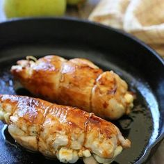 Stuffed Chicken Breast with Prosciutto, Pears and Brie Recipe