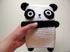 panda e-reader cover. so cute!