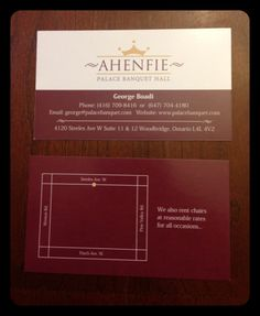 Logo design concepts for grand river brick stone in kitchener logo and business card design for ahenfie palace banquet hall we also print business cards reheart Images