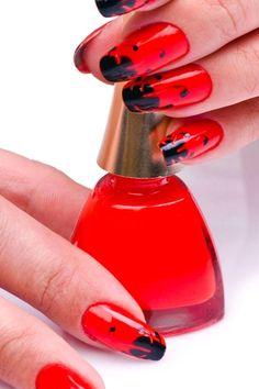 red manicure #red #manicure #love #nails #nailart #beautiful #gelnails #nail #art #naildesign #fashion #gelpolish #nailswag #nailpolish #nailsoftheday Red Manicure, Gel Nails, Swag Nails, Gel Polish, Nailart, Nail Designs, Etsy Seller, Water Bottle, Beautiful