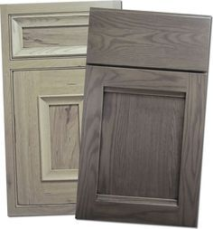 Charming Grey Stained Oak Kitchen Cabinets | Winda 7 Furniture Part 32
