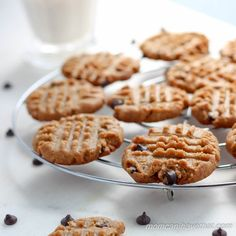 This crispy Six Ingredient Low Carb Peanut Butter Cookies are so easy a 10-year-old can make them. They are gluten-free, dairy-free, keto & terrific