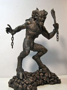 Part 3 - Recently Krampus has enjoyed a resurgence in popularity, and in the United States there is a growing awareness of this curious and primal aspect of the Christmas holiday.     Krampus Statue by Dellamorteco on Etsy, $60.00