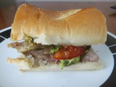 Talented Terrace Girls: Foodie Friday: Turkey Pesto Sandwich