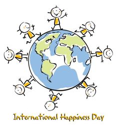 Happy International Happiness Day everyone!:)