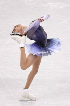 Evgenia Medvedeva of Olympic Athlete from Russia competes in the Figure Skating Team Event – Ladies' Short Program on day two of the PyeongChang 2018 Winter Olympic Games at Gangneung Ice Arena on February 2018 in Gangneung, South Korea. Figure Skating Quotes, Figure Skating Costumes, Figure Skating Dresses, 2018 Winter Olympic Games, Figure Ice Skates, Alina Zagitova, Pyeongchang 2018 Winter Olympics, Dresses Elegant, Team Events