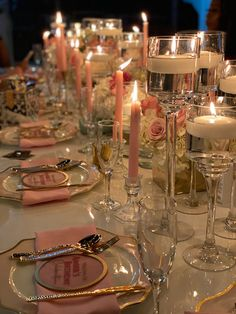 Elegant Party Themes, Elegant Birthday Party, Elegant Dinner Party, Birthday Party Tables, Birthday Dinners, 30th Birthday, Birthday Celebration, Birthday Table Decorations, Dinner Party Decorations