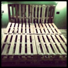 bed frames made out of pallets - Google Search
