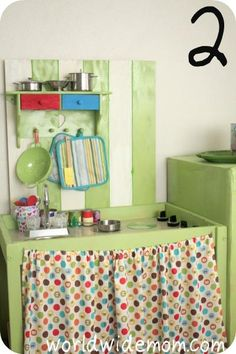 Repurpose ideas on pinterest changing tables change for Toy kitchen table