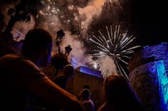 Fuochi d'artificio di ferragosto a Calvi