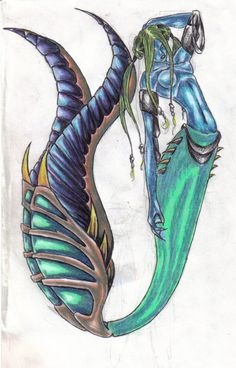 'Ame' Mermaid of Water by Chazmy on deviantART