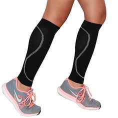 Compression Leg Sleeves  Leg Sleeves for Runners  Perfect for Jogging Walking Basketball Traveling and Everyday Wear  Made with NonItch Merino Wool >>> You can find out more details at the link of the image.Note:It is affiliate link to Amazon.