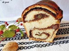 Cozonac cu fanta de post - imagine 1 mare Loaf Cake, French Toast, Sweets, Breakfast, Ethnic Recipes, Bakken, Morning Coffee, Gummi Candy, Candy