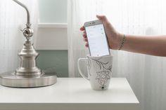 Placez votre téléphone dans une grande tasse avant de vous coucher si vous avez du mal à vous réveiller le matin