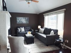 Family Room | Interior Decor | Home Staging | Neutral Decor Interior Decorating, Interior Design, Home Staging, Home Organization, Room Interior, Family Room, Neutral, Couch, Furniture