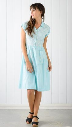RITA dress in Porcelain Blue - I have this dress! It's so beautiful