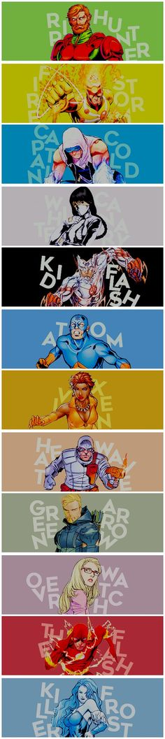 Legends Of Flarrow #LegendsOfTomorrow #Arrow #TheFlash