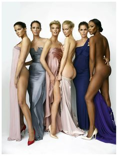 ~Stephanie Seymour, Christy Turlington, Linda Evangelista, Claudia Schiffer, Cindy Crawford, Naomi Campbell~