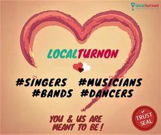 An Open Declaration of LOVE - says Localturnon #turnON #Music | #turnON #Dance | #turnON #Love ! #valentineday #happyvalentine #14feb #valentine