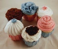 Cupcakes Felt Food Patterns & Instructions