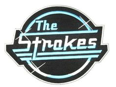 "THE STROKES Diner Logo Big Embroidered Back Patch 9""/23cm - A Patch E Store"